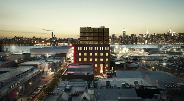 Hotellfabriken i Brooklyn